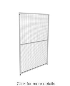 Our standard panels and gates have been cleverly designed to fit together in any combination. They are easily joined using two bolts (included) without the need for specialist tools or skills. They can be used to build everything from a small run to a large run with multiple divisions and everything in between!